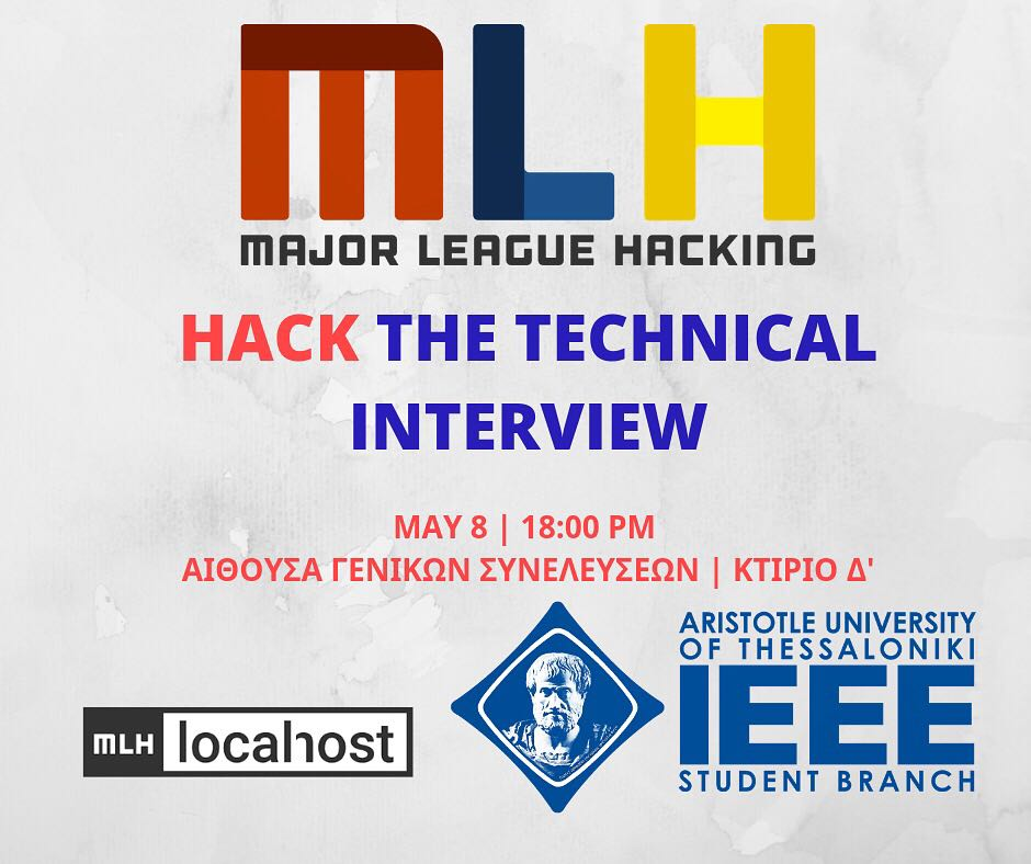 MLH Hack the Technical Interview | By IEEE AUTH SB