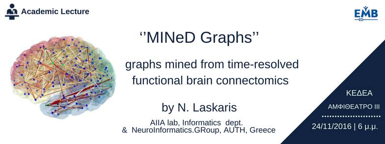 [EMBS] MINeD Graphs from time-resolved functional brain connectomics