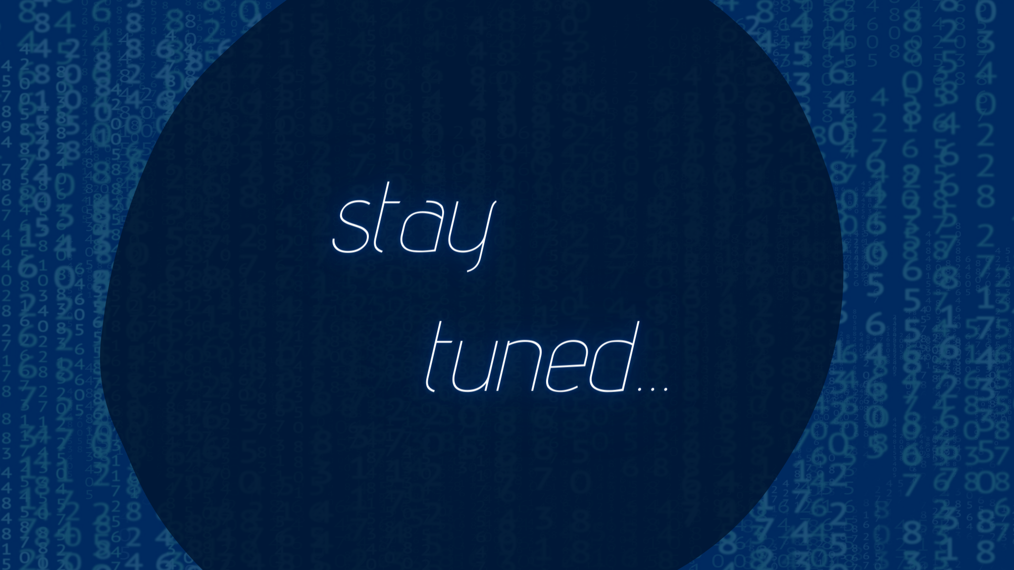 Stay tuned for our next events!